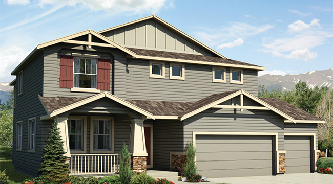 Classic homes colorado springs floor plans house design for Monarch house