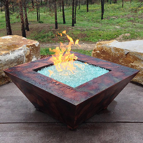 Award-Winning Outdoor Living Space & Fire Pit
