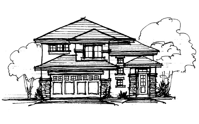 Our design build home building process stauffer sons for First step in building a house