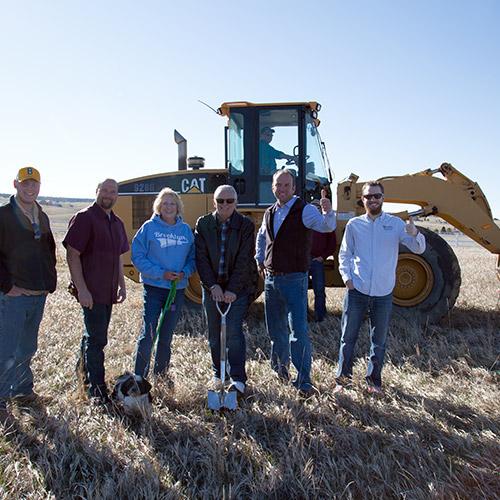 New Custom Home Groundbreaking in Northern Colorado Springs