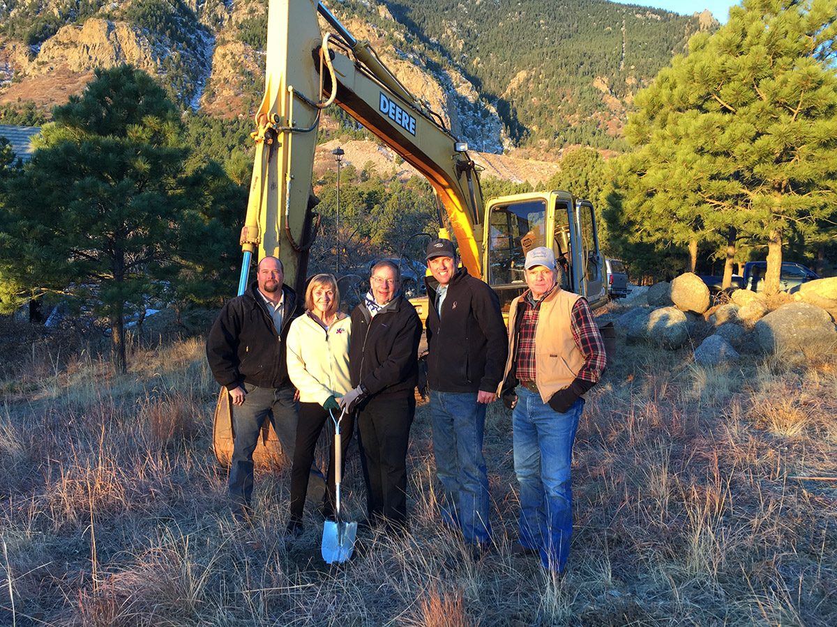 broadmoor groundbreaking custom home