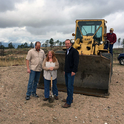 Black Forest Groundbreaking – Russell Residence