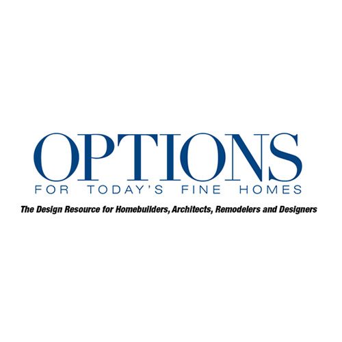 Andy Stauffer In 'Options for Today's Fine Homes' Magazine