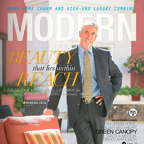 Andy Stauffer in Modern Builder + Design Magazine