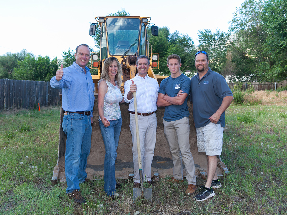 groundbreaking in old colorado city