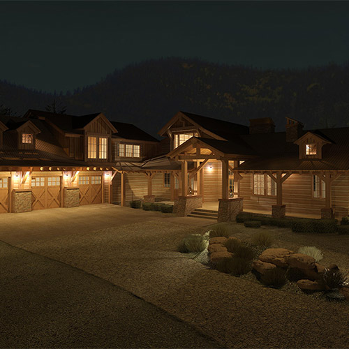 Woodland Hills Home For Custom: New Custom Home In Woodland Park, CO (Woodard Residence